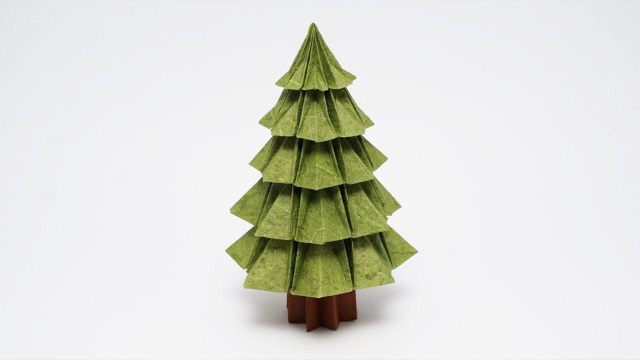 create an origami christmas tree by jo nakashima a designer dad